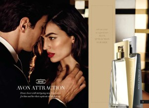 Avon attraction 10ml косметика купить в израиле